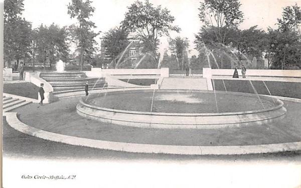 Gates Circle Buffalo, New York Postcard