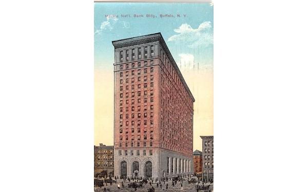 Marine National Bank Building Buffalo, New York Postcard