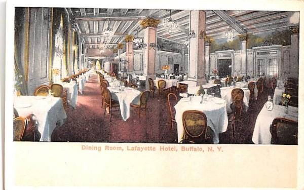 Hotel Lafayette Buffalo, New York Postcard