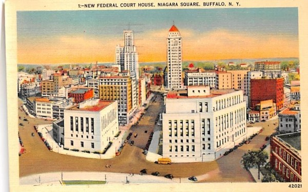 New Federal Court House Buffalo, New York Postcard