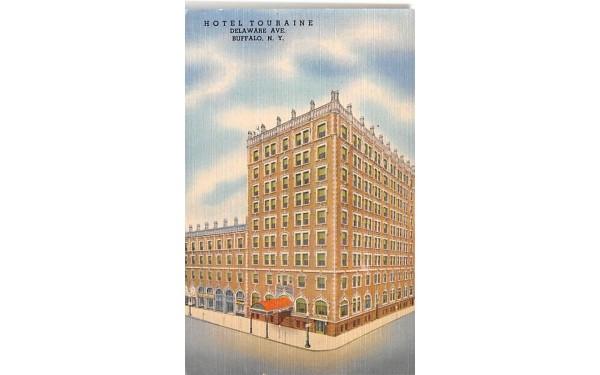 Hotel Touraine Buffalo, New York Postcard