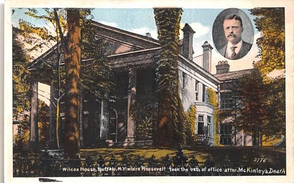 Wilcox House Buffalo, New York Postcard