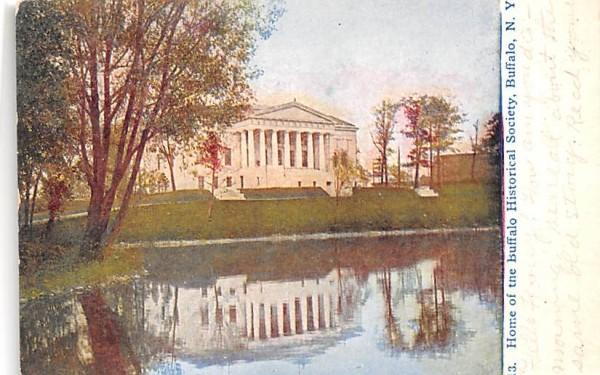 Home of the Buffalo Historical Society New York Postcard