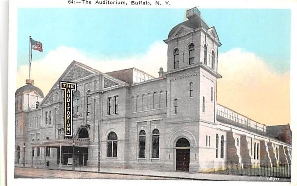 The Auditorium Buffalo, New York Postcard
