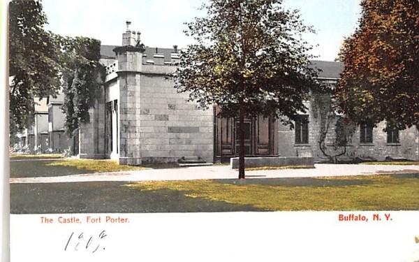 The Castle Buffalo, New York Postcard