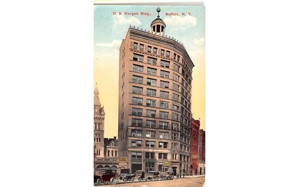 D S Morgan Building Buffalo, New York Postcard