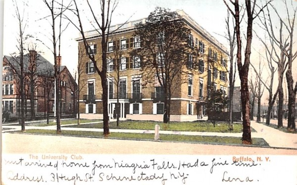 The University Club Buffalo, New York Postcard
