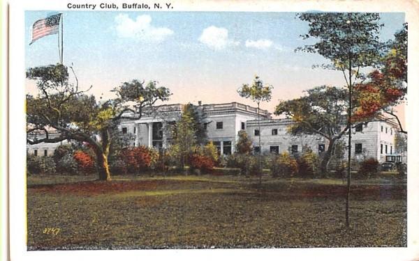 Country Club Buffalo, New York Postcard