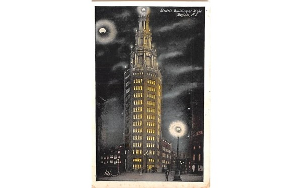 Electric Building Buffalo, New York Postcard
