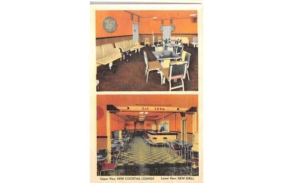 New Cocktail Lounge Buffalo, New York Postcard