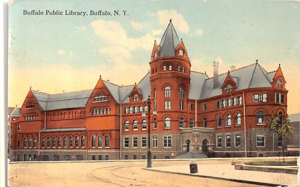 Buffalo Public Library New York Postcard