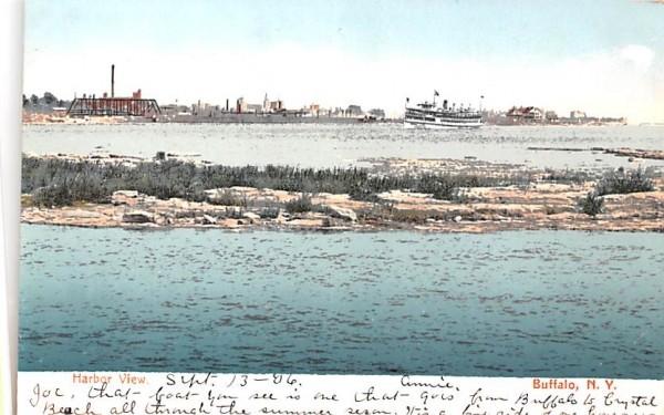 Harbor View Buffalo, New York Postcard