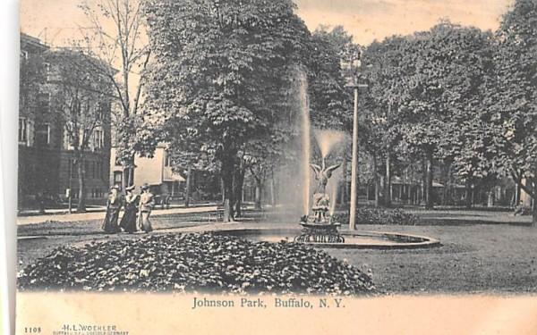 Johnson Park Buffalo, New York Postcard