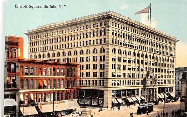 Ellicott Square & Building Buffalo, New York Postcard