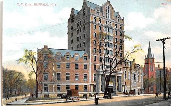 YMCA Buffalo, New York Postcard