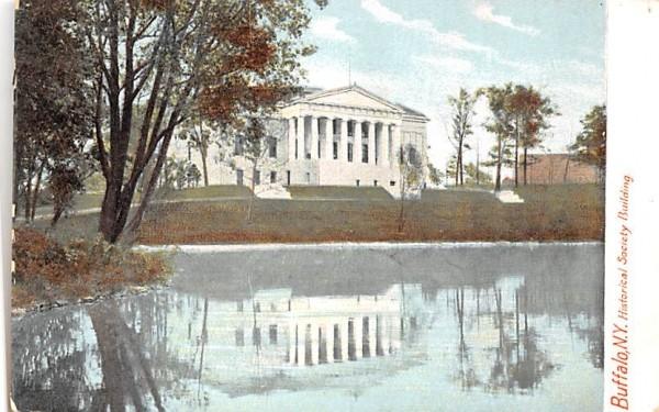 The Historical Society Buffalo, New York Postcard