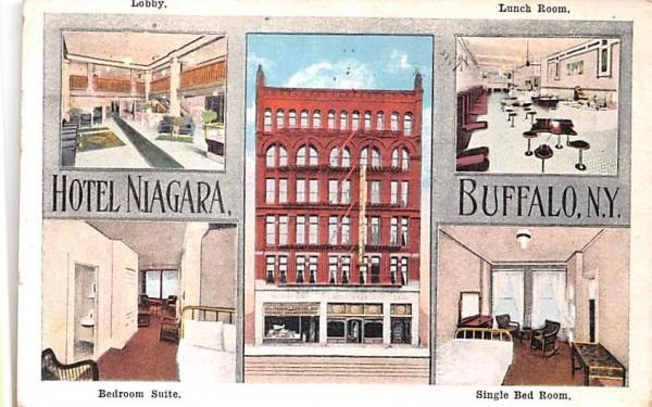 Hotel Niagara Buffalo, New York Postcard