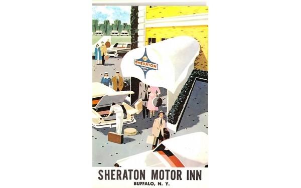 Sheraton Motor Inn Buffalo, New York Postcard