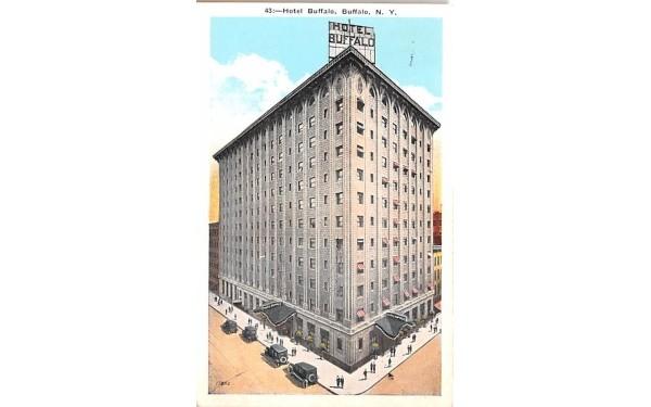 Hotel Buffalo New York Postcard