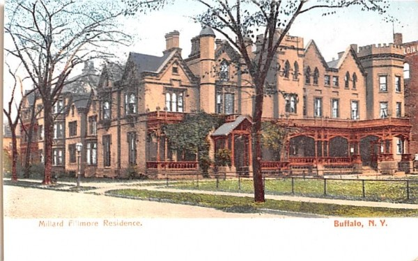 Millard Fillmore Residence Buffalo, New York Postcard