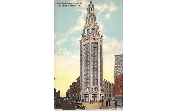 Buffalo General Electric Co Building New York Postcard