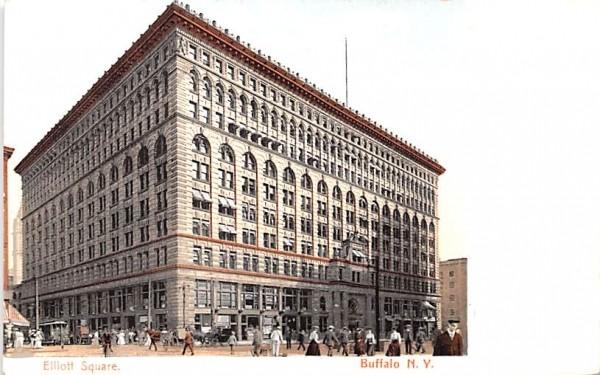 Elliott Square Buffalo, New York Postcard