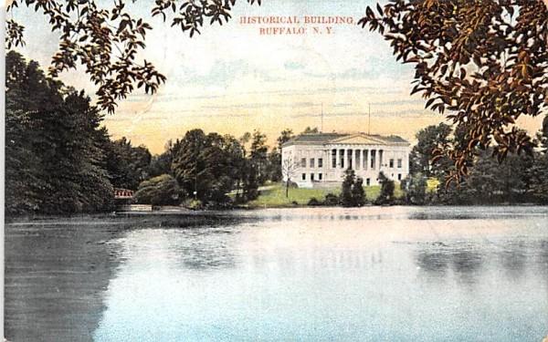 Historical Building Buffalo, New York Postcard