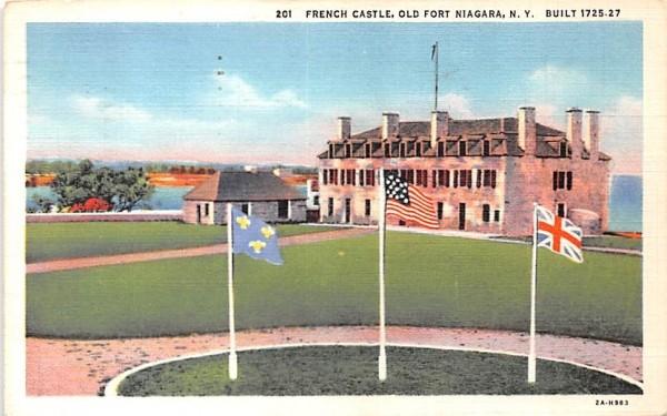 French Castle Buffalo, New York Postcard