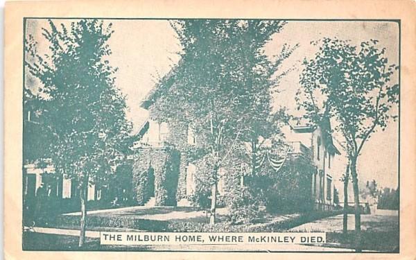 Milburn Home Buffalo, New York Postcard