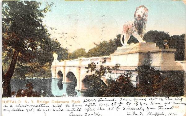 Bridge Buffalo, New York Postcard