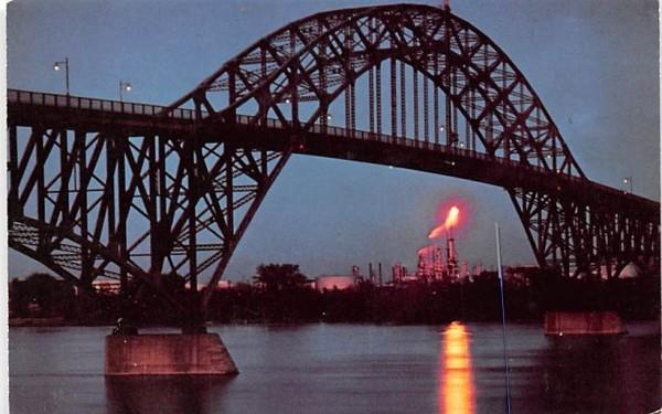 South Grand Island Bridge Buffalo, New York Postcard
