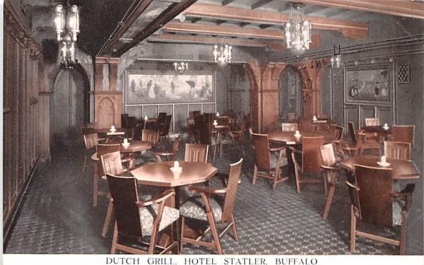 Dutch Grill Buffalo, New York Postcard
