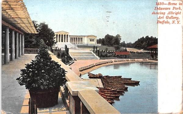 Delaware Park Buffalo, New York Postcard