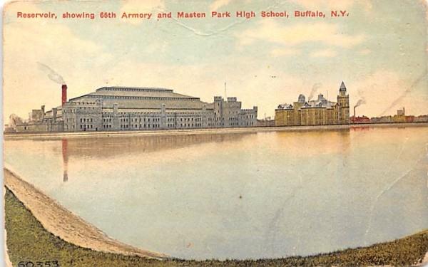 Reservoir Buffalo, New York Postcard