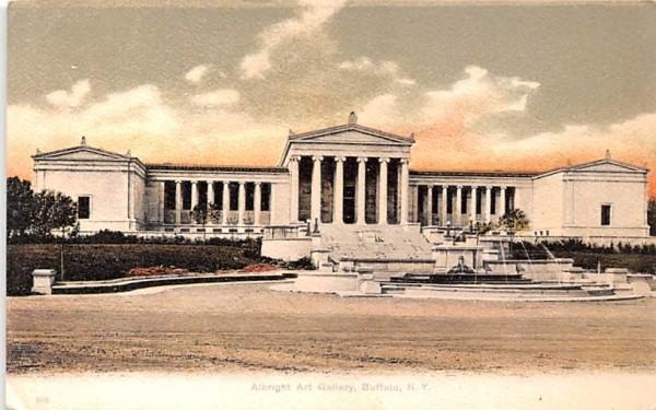 Albright Art Gallery Buffalo, New York Postcard