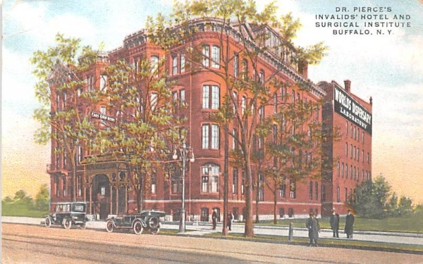 Dr. Pierce's Invalids' Hotel & Surgical Institute Buffalo, New York Postcard