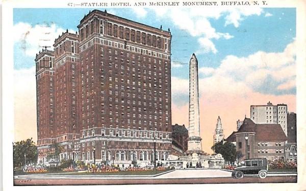 Statler Hotel Buffalo, New York Postcard