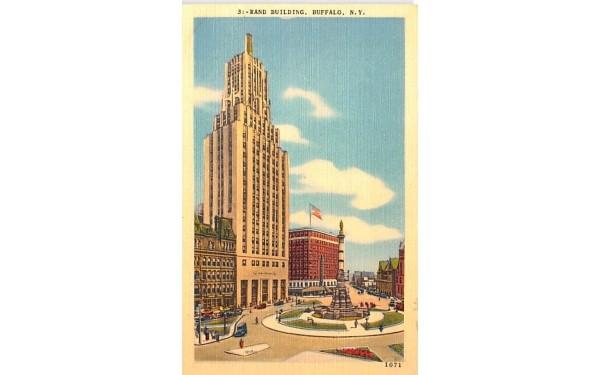 Rand Building Buffalo, New York Postcard