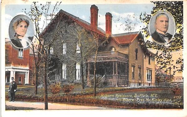 Milburn Residence Buffalo, New York Postcard