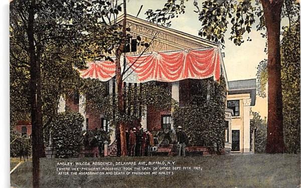 Ansley Wilcox Residence Buffalo, New York Postcard