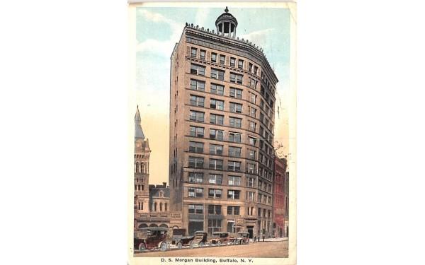DS Morgan Building Buffalo, New York Postcard