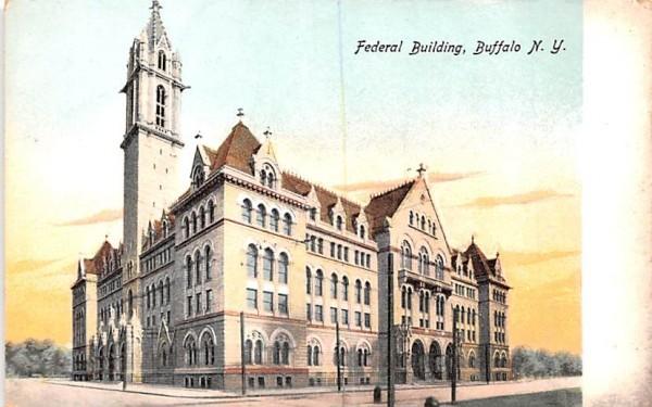 Federal Building Buffalo, New York Postcard