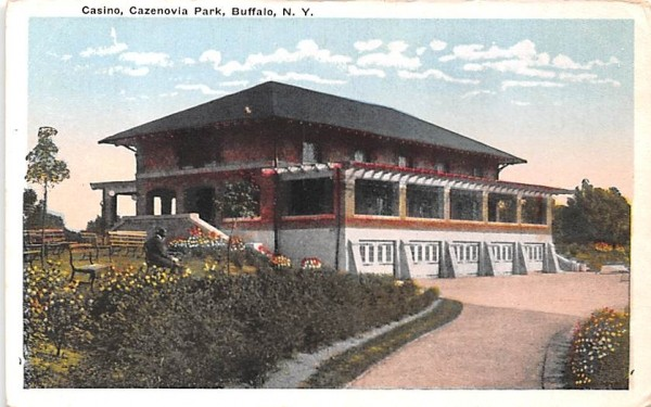 Casino Buffalo, New York Postcard