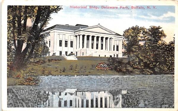 Historical Society Buffalo, New York Postcard