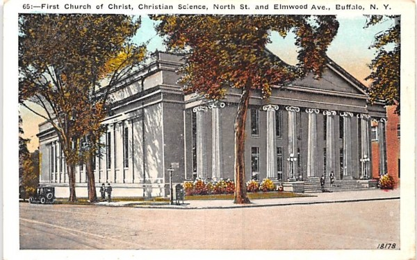 First Church of Christ Buffalo, New York Postcard