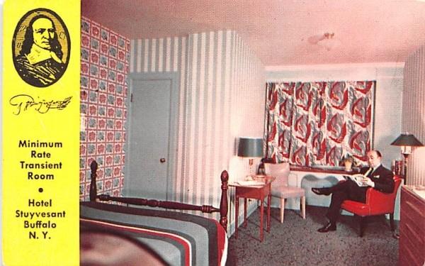 Hotel Stuyvesant Buffalo, New York Postcard