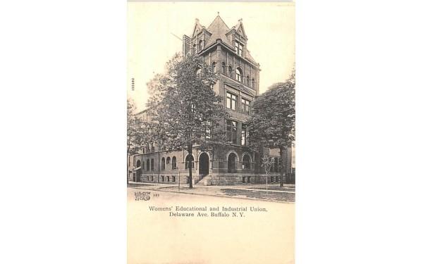 Women's Educational & Industrial Union Buffalo, New York Postcard