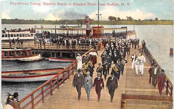 Republican Outling Buffalo, New York Postcard
