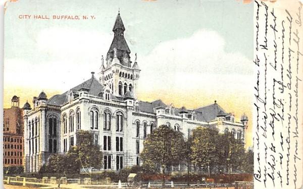 City Hall Buffalo, New York Postcard