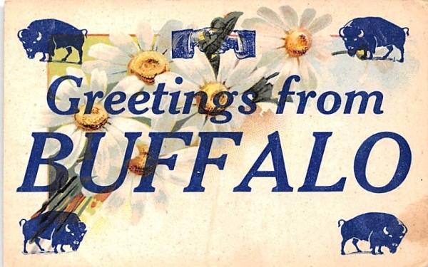 Greetings from Buffalo, New York Postcard